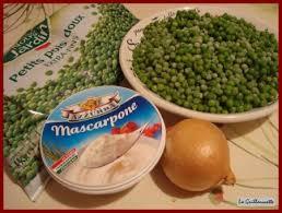 cuisiner des petit pois surgel velouté de petits pois au mascarpone et bacon la guillaumette
