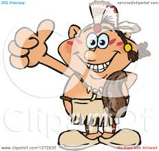 happy thanksgiving native american clipart of a happy native american indian man royalty free