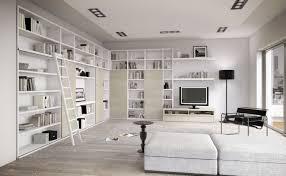 white living room with bookcase rukle set ideas idolza