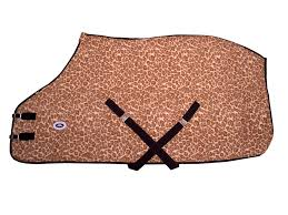 leopard print horse fleece sheets or blanket liners closeout www