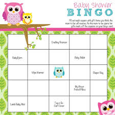 to play at baby showers how to play baby shower bingo baby shower ideas