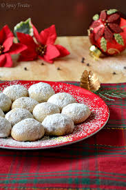 spicy treats chocolate snowballs eggless snowball cookies