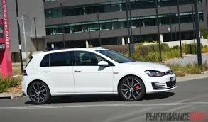 golf volkswagen gti 2014 volkswagen golf gti performance mk7 review video