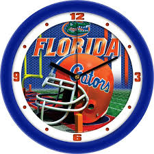 florida gators football helmet wall clock florida gators