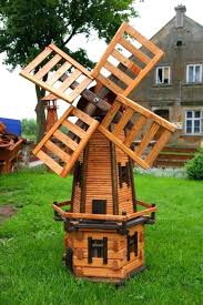 garden ornament windmill wooden garden windmill search yard