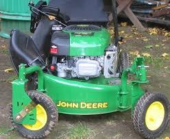 js 40 self propelled lawn mower