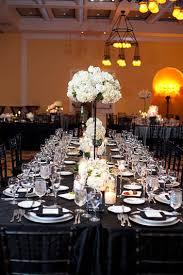 decoration mariage noir et blanc decoration de mariage et blanche moderne décoration
