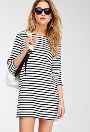 dress stripes navy white forever 21 striped dress white