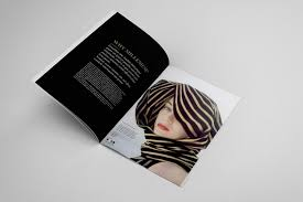 fashion catalogue brochure template on behance
