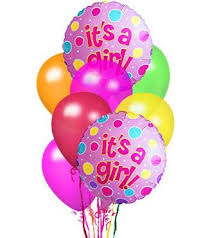 balloons delivery nj it s a girl balloon bouquet welcome the new addition delivered