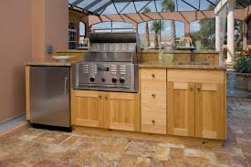 furniture natural stone outdoor kitchen cabinet built in grill