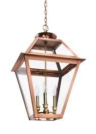 Copper Flush Mount Light Ch 41 Hanging Light Copper Lantern Gas And Electric Lighting