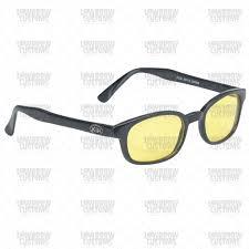 kds original biker sunglasses yellow lenses