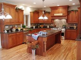 High Ceiling Kitchen by High Brown Wood Bar Stools Corner Wall Open Shelves Square Island