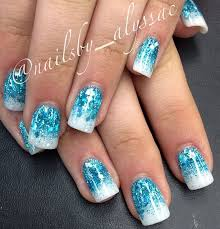 cute blue acrylic nails for 10 year old girls google search