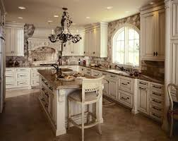 limestone countertops rustic white kitchen cabinets lighting