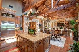 Open Kitchen Living Room Design Open Kitchen And Living Room Design In Rancho Santa Fe By Susan