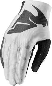 thor motocross gloves mx gloves thor void aktiv black white