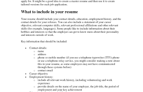 what a good resume should include how to write an a essay
