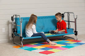 Portable Bunk Beds Portable Bunk Beds For Cing Travel And Sleepovers Simplemost