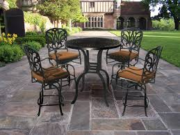 High Top Patio Furniture Set - furniture ideas counter height patio furniture with swivel patio