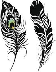 peacock feather with geometric elements tattoos pinterest