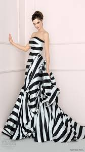white and black wedding dresses black and white striped wedding dress 998