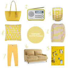 Pantone Yellow by Colour Your World In Pantone Custard By The Twinkle Diaries