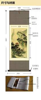 silk peacock home decor traditional chinese painting abstract modern wall painting peacock