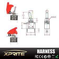 Led Light Bar Wiring Harness by Heavy Duty Led Light Bar Wiring Harness With 4 Leg 40 Amp Relay