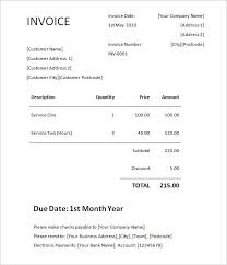 picnictoimpeachus pleasing invoice freewordtemplatesnet with