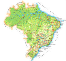 Map Of North East Geographic Map Of Brazil You Can See A Map Of Many Places On The