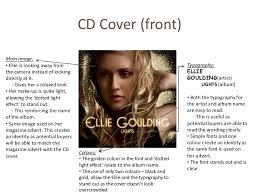 Ellie Goulding Lights Album Research Analysis Into The Mediums Of Ancillary Texts