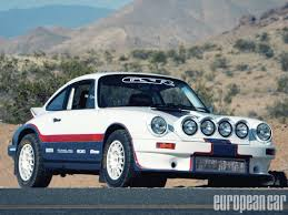rally porsche 911 1984 porsche 911 rally european car magazine