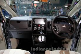 mitsubishi interior mitsubishi delica at the 2014 indonesia international motor show