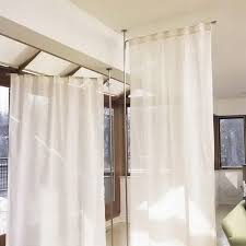 curtain room dividers rod home design ideas