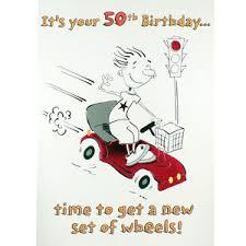 50th birthday card funny rude humorous happy greetings card ebay