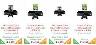 black friday xbox one price microsoft sa will retain its black friday xbox one price r3999