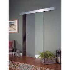32x80 Exterior Door by Glass Barn Door Opaque Walmart Com