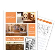 bathroom design guide planning affordable kitchens and baths