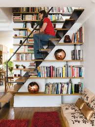 United States Bookshelf What A Good Idea Bookshelf Stairs For The Home Pinterest