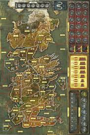 Map Westeros Game Of Thrones Board Game 2nd Edition Westeros Cards