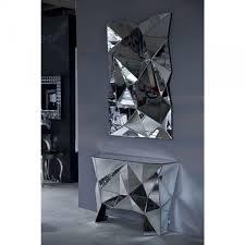 Designer Couchtisch Glas Prisma Konsole Prisma Kare Design