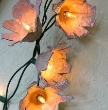 Flower String Lights by 31 Egg Carton Flowers For Craft Guide Patterns