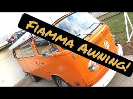 Fiamma Roll Out Awning Fiamma Awning Youtube