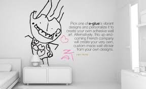 Decoration Custom Wall Stickers Home Decor Ideas - Wall sticker design your own
