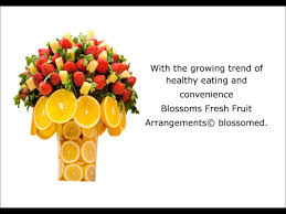 fresh fruit arrangements blossoms fresh fruit arrangements