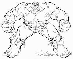 incredible hulk coloring page free printable hulk coloring pages