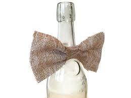 wine bottle bow backyard wedding the merry