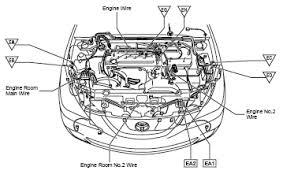 toyota v6 engine diagram toyota wiring diagrams instruction